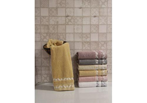 """Махровое полотенце 70х140 """"Gravel"""" бежевый, фото 1"""