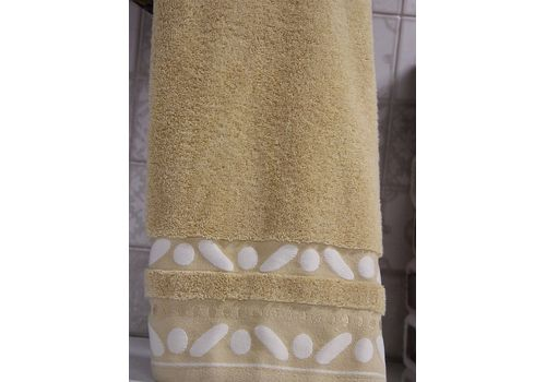 """Махровое полотенце 70х140 """"Gravel"""" бежевый, фото 2"""