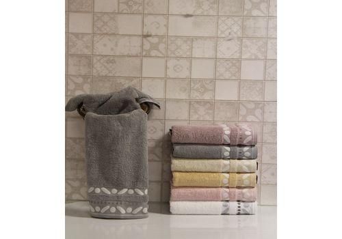 """Махровое полотенце 50х90 """"Gravel"""" серый, фото 1"""