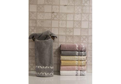 """Махровое полотенце 70х140 """"Gravel"""" серый, фото 1"""