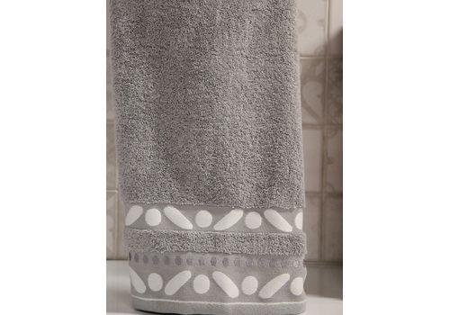 """Махровое полотенце 70х140 """"Gravel"""" серый, фото 2"""