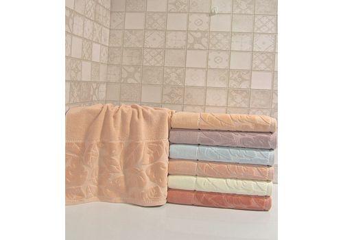 """Махровое полотенце 50х90 """"Kismi Kadife"""" 6 шт, фото 5"""