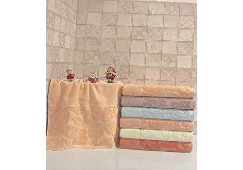 """Махровое полотенце 50х90 """"Kismi Kadife"""" 6 шт, фото 6"""