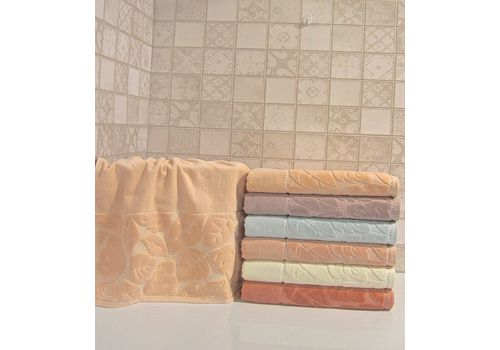 """Махровое полотенце 70х140 """"Kismi Kadife"""" 6шт, фото 6"""