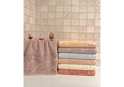 """Махровое полотенце 50х90 """"Kismi Kadife"""" 6 шт, фото 1"""