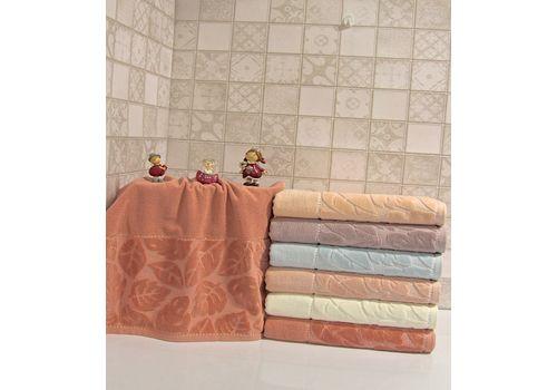 """Махровое полотенце 70х140 """"Kismi Kadife"""" 6шт, фото 3"""