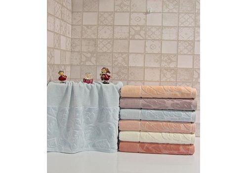 """Махровое полотенце 70х140 """"Kismi Kadife"""" 6шт, фото 4"""