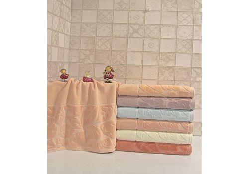 """Махровое полотенце 70х140 """"Kismi Kadife"""" 6шт, фото 5"""
