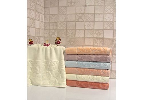 """Махровое полотенце 50х90 """"Kismi Kadife"""" 6 шт, фото 4"""