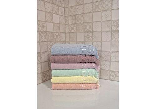 """Махровое полотенце 90х140 """"Lidia"""" 6 шт, фото 7"""