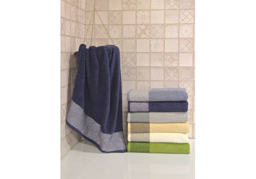 """Махровое полотенце 50х90 """"Qwin"""" 6 шт, фото 4"""