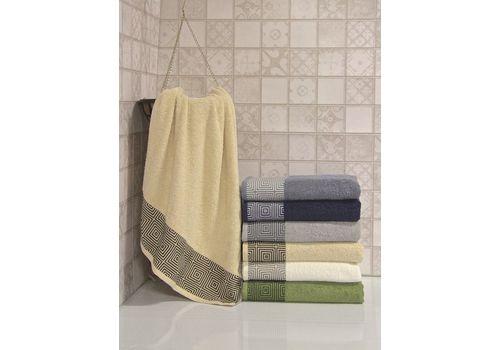 """Махровое полотенце 50х90 """"Qwin"""" 6 шт, фото 5"""