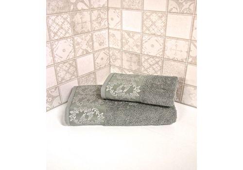 """Махровое полотенце 50х90 """"Silver"""" 6 шт, фото 4"""