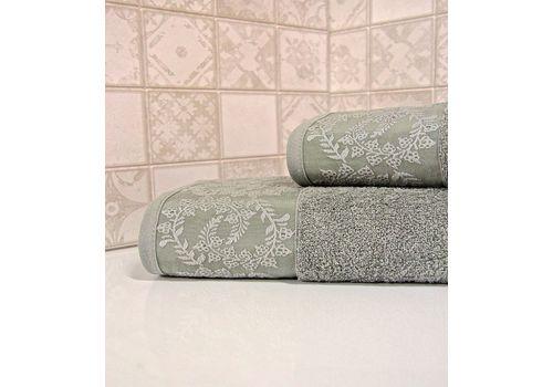 """Махровое полотенце 50х90 """"Silver"""" 6 шт, фото 5"""