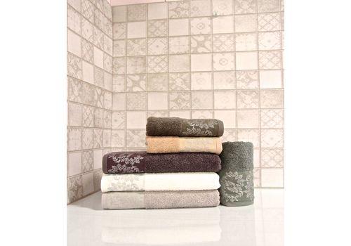 """Махровое полотенце 50х90 """"Silver"""" 6 шт, фото 1"""
