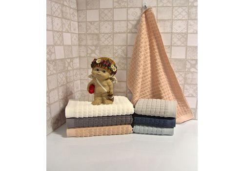 """Махровое полотенце 70х140 """"Villa"""" 6 шт, фото 2"""